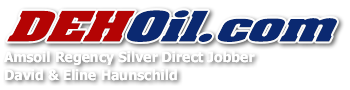 Buy AMSOIL Synthetic Motor Oil, Filters, and Other Products from DEHOil.com, Amsoil's Regency Silver Direct Jobber